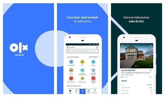 Aplikasi untuk jualan online di Indonesia yaitu olx