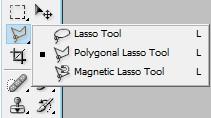 Cara menghapus background di Photoshop menggunakan Polygonal Lasso Tool